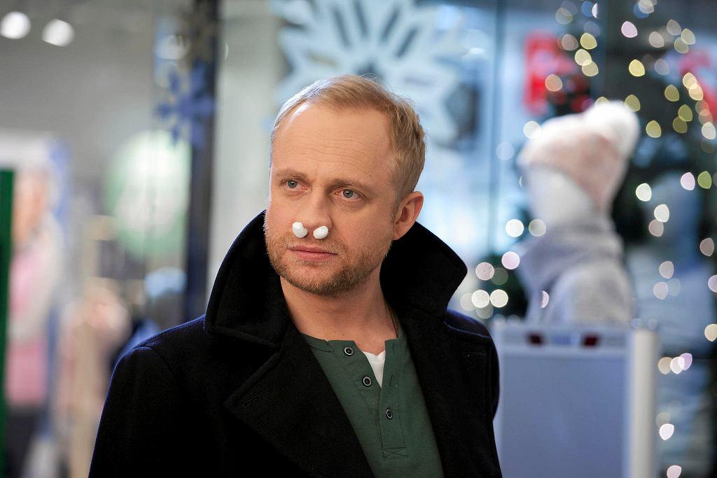Piotr Adamczyk na planie filmu 'Listy do M 3' /