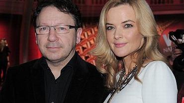 Zbigniew Zamachowski i Monika Richardson