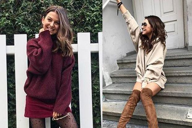 Zobaczcie, jak diametralnie zmienił się styl Anny Lewandowskiej! Dawniej była miłośniczką sportowych stylizacji, dziś potrafi połączyć swobodny look z kobiecymi ubraniami.