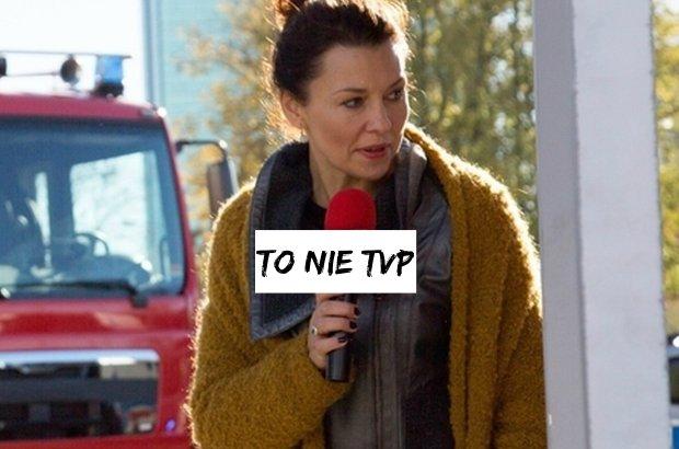 """""""Na dobre i na z�e"""". Anna Popek zagra�a w serialu. Reporterk�. Co ciekawe, wcale nie z TVP"""