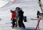 Alpejski P�. Vonn nadwyr�y�a wi�zad�o krzy�owe w prawym kolanie