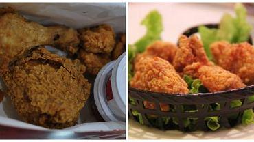 Kurczak z KFC vs kurczak zrobiony w domu