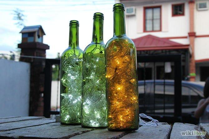 Butelka skupiająca światło