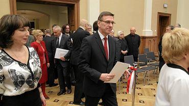 Prezydent Piotr Grzymowicz