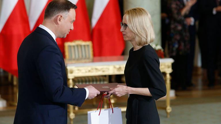Teresa Czerwińska, minister finansów