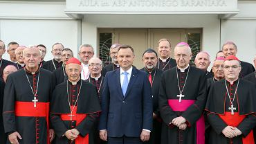 Prezydent na spotkaniu z Episkopatami Europy