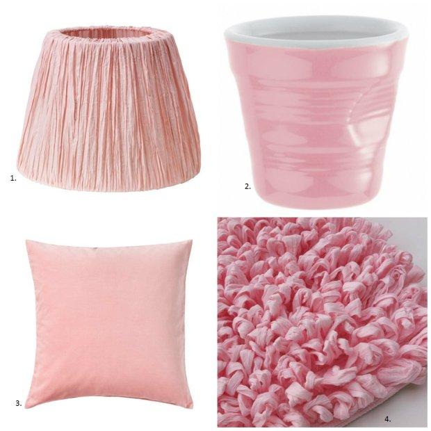 Dodatki w kolorze różowym