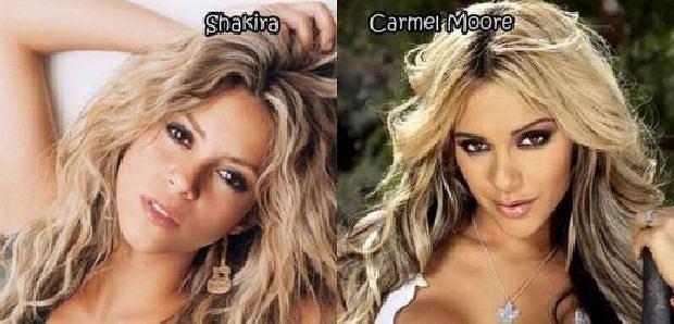 Shakira, Carmen Moore