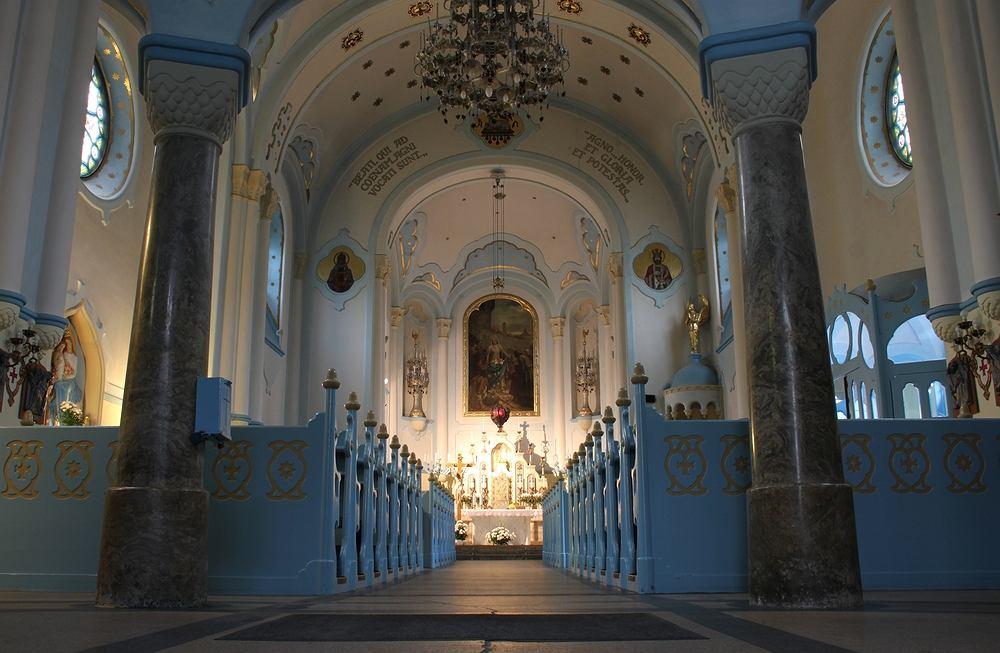 Słowacja Bratysława - Kościół św. Elżbiety, Niebieski Kościółek / Shutterstock
