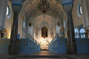 Słowacja Bratysława. Niebieski Kościółek