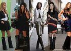 Gwiazdy zakochane w sk�rzanych kozakach od Givenchy - jak je nosz�?