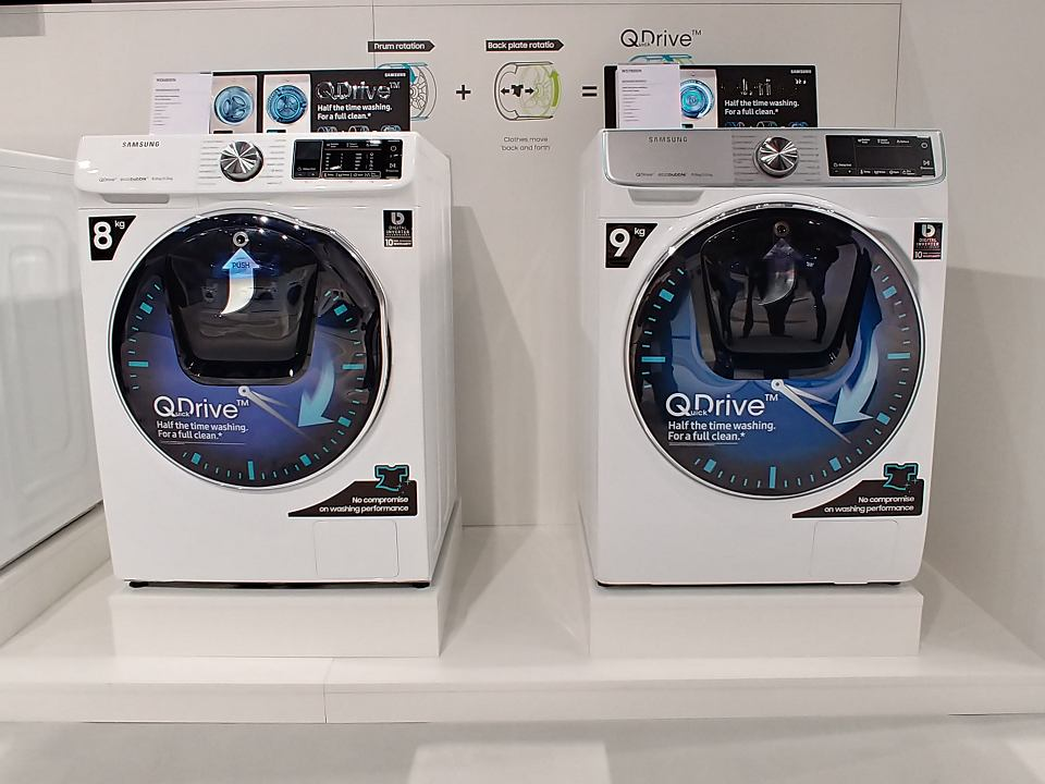 samsung pokaza now pralk z technologi skracaj c czas. Black Bedroom Furniture Sets. Home Design Ideas