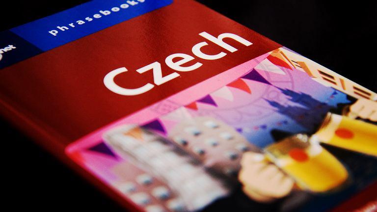 Czechy, podręcznik do nauki języka czeskiego
