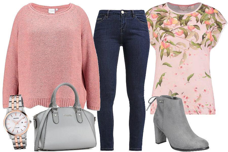 Warstwy - Sweter i wzór