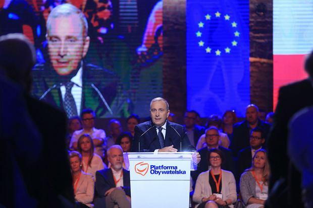 Rada Krajowa Platformy Obywatelskiej Fot. Jacek Marczewski / Agencja Gazeta