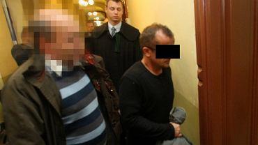 Krzysztof B. w drodze na posiedzenie aresztowe