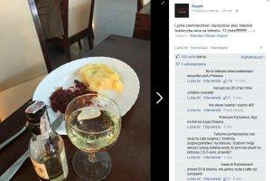Kayah zamówiła skromny obiad na lotnisku. Była w szoku, kiedy przyszło do płacenia