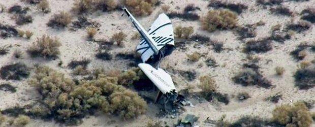 Pasa�erski statek kosmiczny eksplodowa� nad pustyni�. Nale�a� do miliardera Richarda Bransona