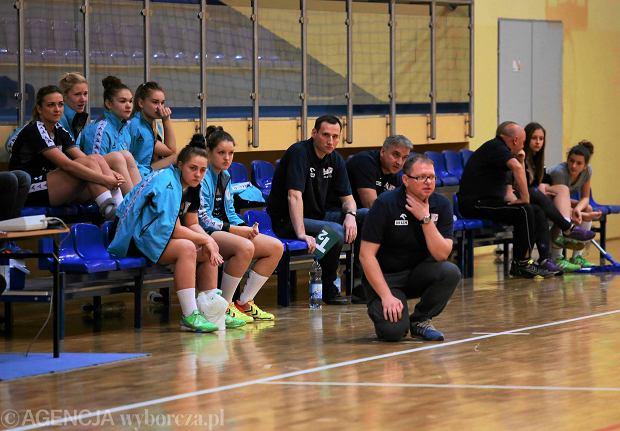 Trener Jutrzenki Jarosław Stawicki