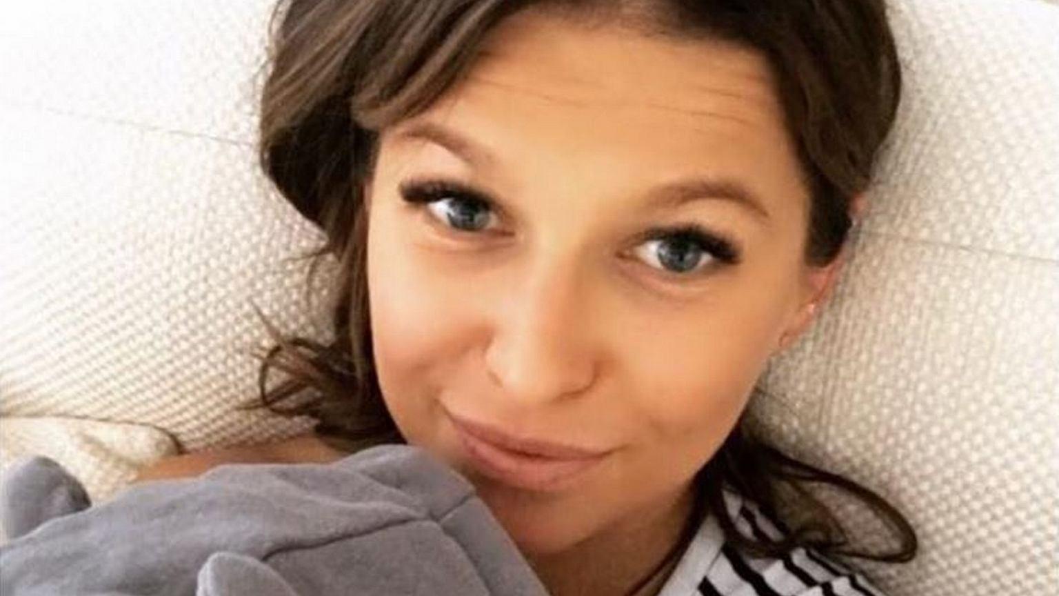 Anna Lewandowska Pokazała Sypialnię Widać Też ł 243 żeczko