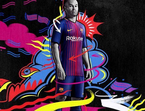 Zdjęcie numer 0 w galerii - Barcelona zaprezentowała trzeci komplet koszulek. Ściągnęła od innego europejskiego giganta?