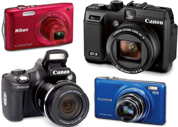 Nikon COOLPIX S3300, Canon PowerShot G1X, Canon PowerShot SX50 HS, Fujifilm FinePix T350