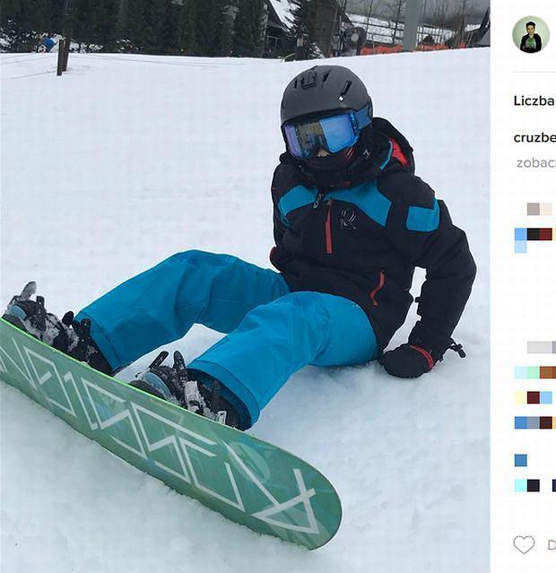 Zdjęcie numer 4 w galerii - Rodzina Beckhamów w górach. Harper uczy się jeździć na nartach! Nie obyło się bez WYPADKU. Zobaczcie nagranie