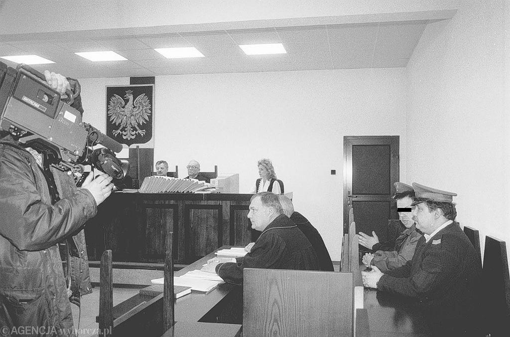 Proces Leszka Pękalskiego w słupskim sądzie (fot. Jacek Balk / Agencja Gazeta)
