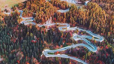 Przełęcz Maloja, Szwajcaria.