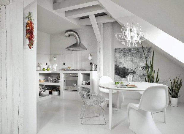 malowanie pod ogi na bia o w praktyce sprawdzamy efekty zdj cie nr 13. Black Bedroom Furniture Sets. Home Design Ideas