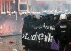 Wielki protest w Hamburgu. Policja: centrum miasta stref� zagro�on� [ZDJ�CIA]