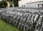 Miejskie rowery w magazynie na Młocinach