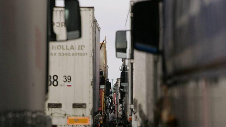 Ukraińskie ciężarówki nie wjadą do Rosji