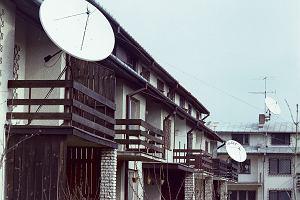 Antena satelitarna - telewizja z kosmosu. Historia z PRL-u