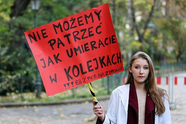 Protest lekarzy rezydentów