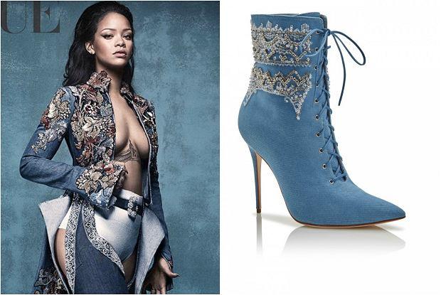 e0a555cff4703 Najpierw Puma, teraz luksusowe szpilki. Rihanna znów w roli ...