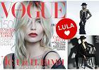 """Natasha Poly w ok�adkowej sesji """"Vogue Russia"""" [ZDJ�CIA]"""
