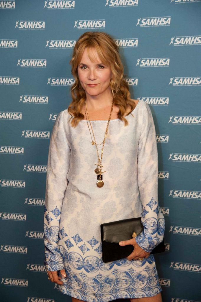 Lea Thompson w 2013 roku w czasie gali Samsha Voice Awards / fot. JON DIDIER, Wikimedia Commons