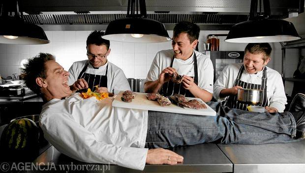Atelier Amaro utrzymuje gwiazdk�. Michelin wyr�ni� te� dwa inne polskie lokale