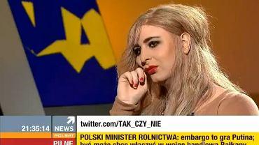 """Rafalala w programie """"Tak czy Nie"""" Agnieszki Gozdyry"""