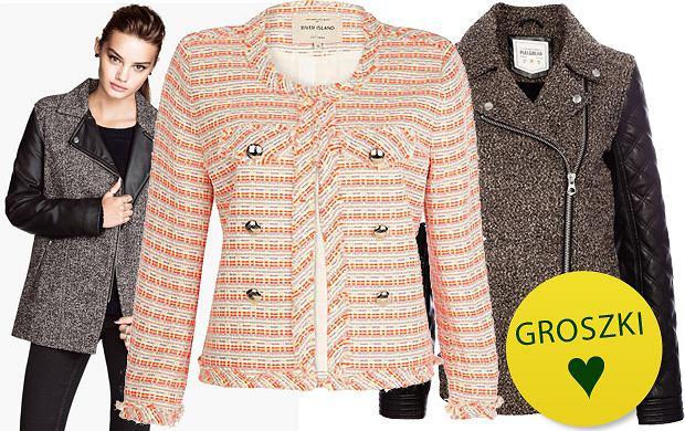 Trend alarm: tweed i melanż