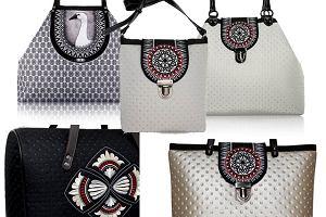 Pikowane i drukowane torebki Goshico