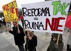 Protest rodziców przeciwko reformie edukacji. Puste klasy przestraszą minister Zalewską?