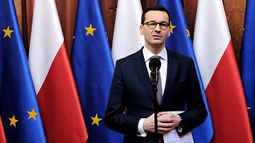 Spotkanie premiera Mateusza Morawieckiego ze 'Sprawiedliwymi Wśród Narodów Świata' w KPRM, 26 lutego 2018.