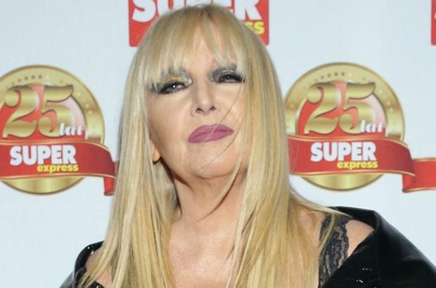"""Maryla Rodowicz na gali """"Super Expressu"""" opowiedziała o kryzysie w małżeństwie."""