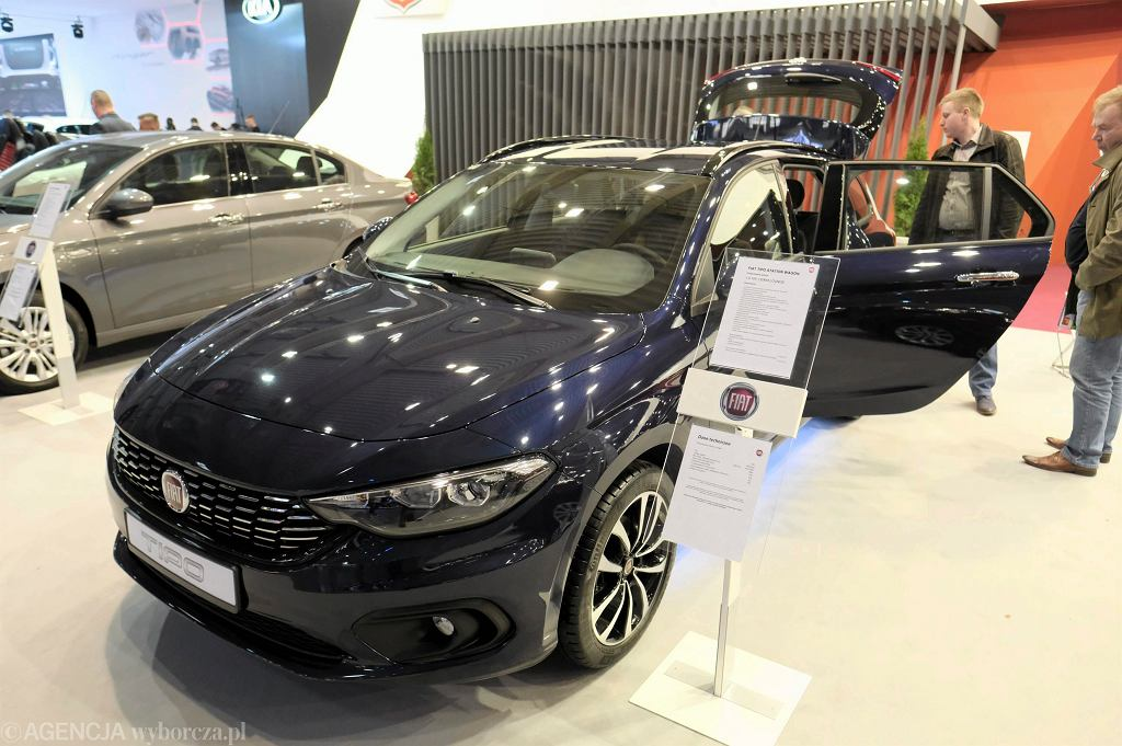 Targi Motor Show 2017 - Fiat Tipo