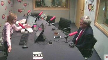 Gościem Dominiki Wielowieyskiej był Ryszard Czarnecki, wiceszef PE