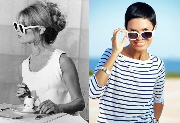 9cbe141e8f340d Okulary przeciwsłoneczne w stylu gwiazd filmowych - noś je jak Audrey  Hepburn i Brigitte Bardot