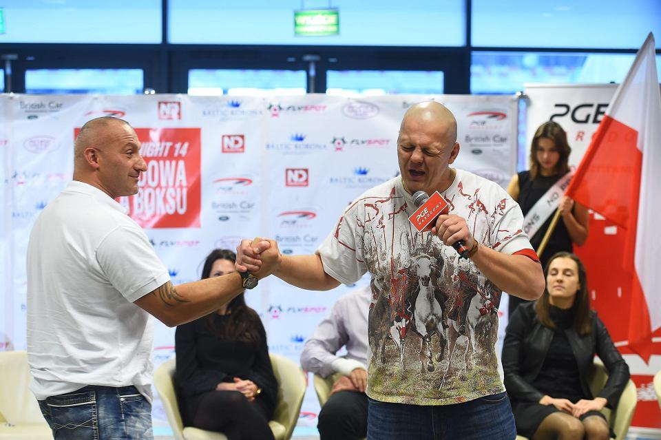 Warszawa 23.11.2017   Konferencja prasowa przed gala Boxing Night 14