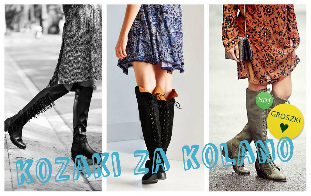 246003b84767c Kozaki za kolano - hit tego sezonu, gdzie kupić i jakie kupić?